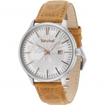 Timberland Mens Gents Edgemont Gents Wrist Watch Brown Strap 15260JS/04