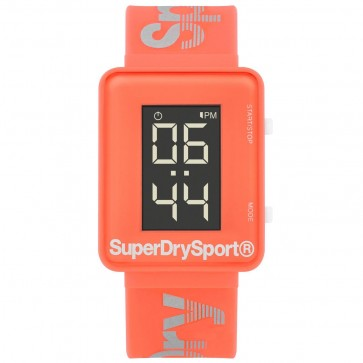 Superdry Ladies Womens Pink Wrist Watch SYG204C