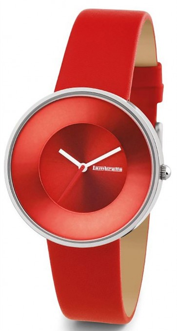 Lambretta Ladies Womens Wrist Watch Red Face 2101RED