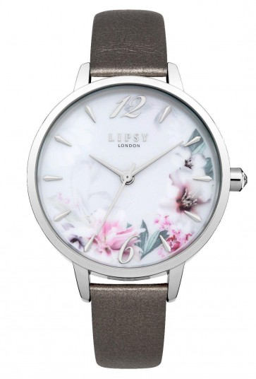 Lipsy Womens Ladies Floral Printed Dial Wrist Watch LP548