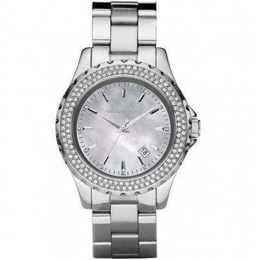 Michael Kors Ladies Watch Stainless Steel Bracelet Grey Dial MK5451
