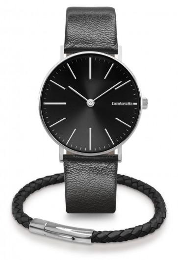 Lambretta Womens Ladies Cesare 42 Wrist Watch Black Kit 2171BLA