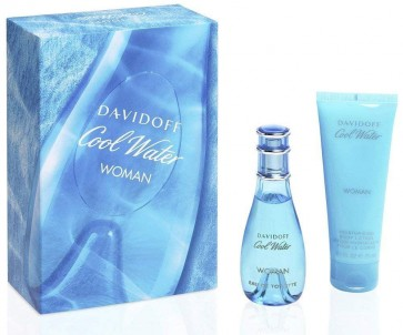 DAVIDOFF COOL WATER EDT 30ML + BODY LOTION 75ML