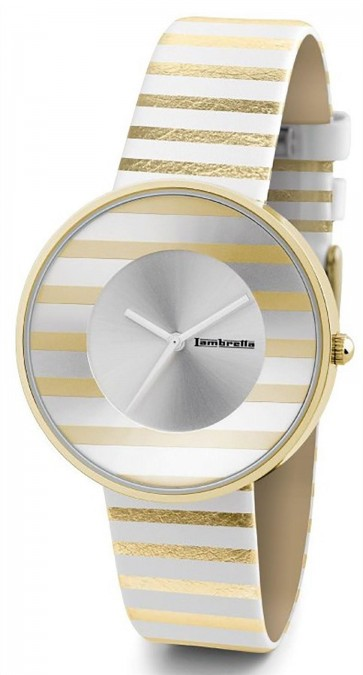 Lambretta Ladies Womens Wrist Watch Gold Stripe 2105GOL