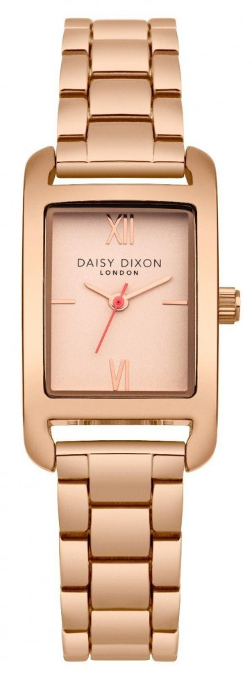 Daisy Dixon Ladies Womens Nadine Wrist Watch Rose Gold Dial Face DD057RGM