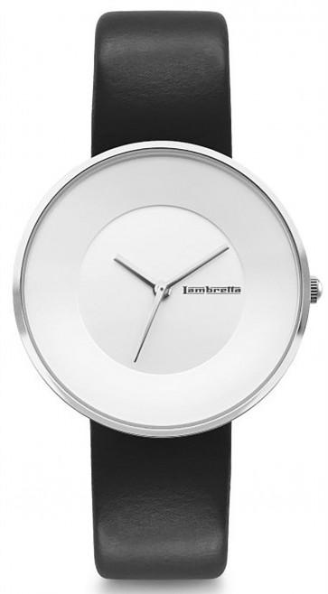 Lambretta Womens Ladies Cielo 37 Wrist Watch Silver 2202BLA