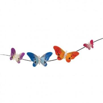 Butterfly Fire Optic Solar Garden Lights 12