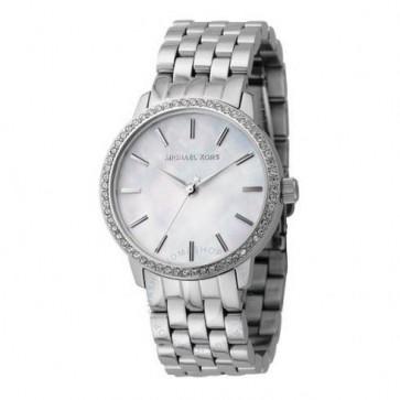 Michael Kors Round Swarovski Crystal Ladies Wristwatch Watch MK3118
