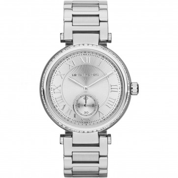Michael Kors Ladies Womens Wrist Watch Silver Stainless Steel Skylar MK5866