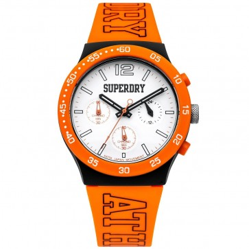 Superdry Mens Gents Urban Athletics Chronograph Wrist Watch SYG205O