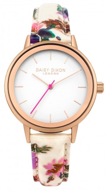 Daisy Dixon Ladies Womens Jamine Wrist Watch White Face DD049WP