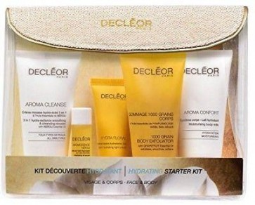 Decleor Hydrating Womens Ladies 5 Piece Face & Body Starter Kit