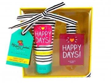 Happy Jackson Womens Ladies 2PC 50ml EDT And 100ml Body Butter Gift Set