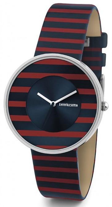 Lambretta Ladies Womens Wrist Watch Red Stripe 2105RED