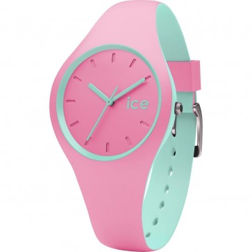 ICE Ladies Womens Duo Pink Mint Watch Pink Strap 001493