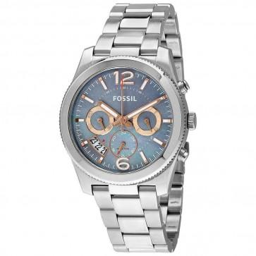Fossil Ladies Watch Stainless Steel Bracelet Mother of Pearl Dial ES3880