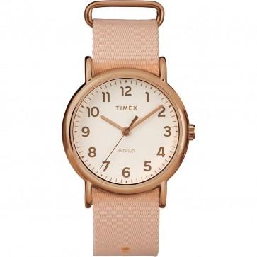 Timex Women's Ladie's Weekender Quartz Watch Pink Strap TW2P82000