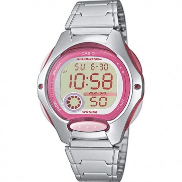 Casio Ladies Watch Watch Alarm Chronograph Resin Strap LW-200D-4AVEF