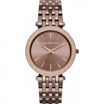 Michael Kors MK3416 Ladies Darci Bronze Steel Brecelet Wrist Watch MK3416