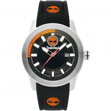 Timberland Mens Gents Wrist Watch Black Stap Black Dial 15355JS/02P
