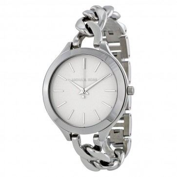 Michael Kors Ladies Runway Watch Stainless Steel Curb Link Bracelet MK3279