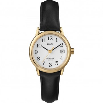 Timex Womens Ladies Quartz Watch With White Dial T2H341