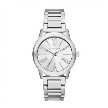Michael Kors Hartman Ladies Womens Wrist Watch MK3489 Silver Stainless Steel