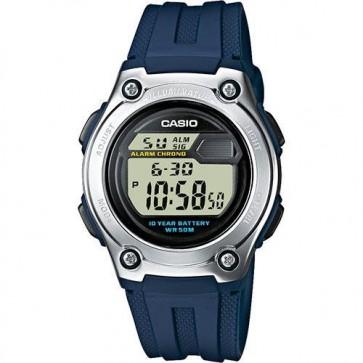 Casio Mens Digital LCD Watch Chronograph Alarm Dual Time W-211-2AVES