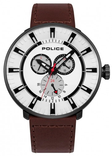 Police Mens Gents League Wrist Watch 15040XCYB/01