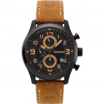 Timberland Mens Gents Groveton Wrist Watch Black Dial 15357JSB/02