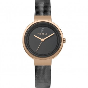 Fiorelli Ladies Watch Gold Bracelet White Dial FO040BRGM