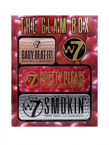 W7 The Glam Makeup Palette Box Gift Set