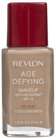 Revlon Age Defying Makeup Foundation, Dry Skin, Golden Beige 13