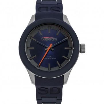 Superdry Mens Gents Blue Wrist Watch SYG211US
