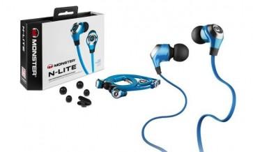 Monster N-Lite In Ear Headphones - Blue
