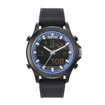 Kenneth Cole Reaction Black & Blue Mens Gents Wrist Watch RK50552005