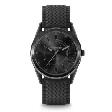 Lambretta Marco 40 Rubber Black Mens Gents Wrist Watch 2302BLA