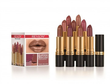 Revlon 9 Super Lustrous Nude Collection Lipsticks