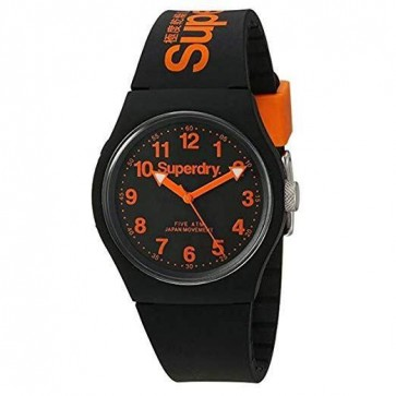 Superdry Men's Analogue Quartz Watch with Silicone Strap SYG164B