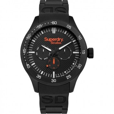 Superdry Quartz Watch with Silver SYG210BB