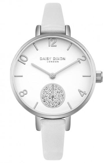 Daisy Dixon Ladies Womens Jamine Wrist Watch White Face DD075WS