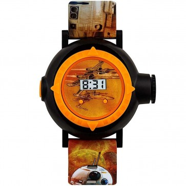 Disney Star Wars BB8 Digital Projector Wrist Watch SWM3116