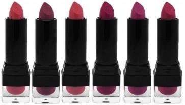 W7 Viva La Berry Lipstick 6 Pack Kiss Nice Blackberry Glam Summer