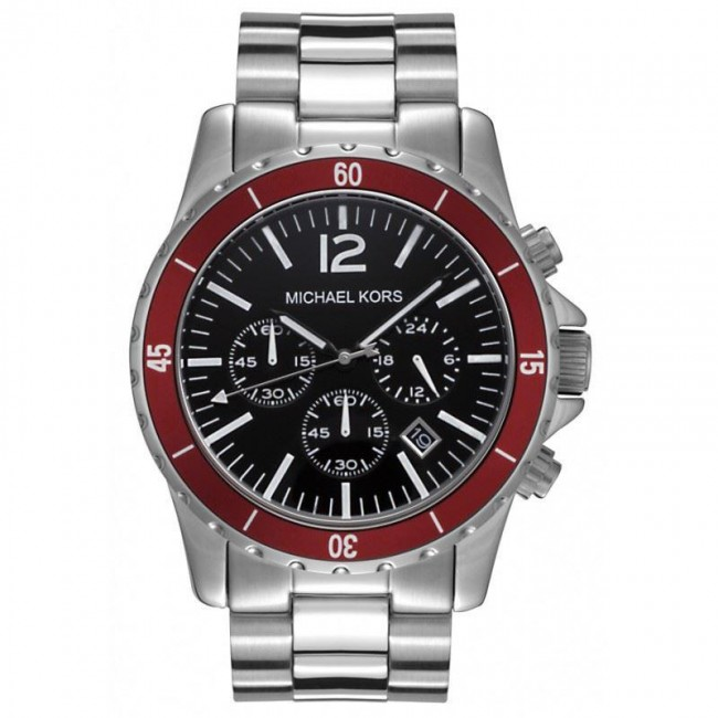 michael kors mens chronograph stainless steel