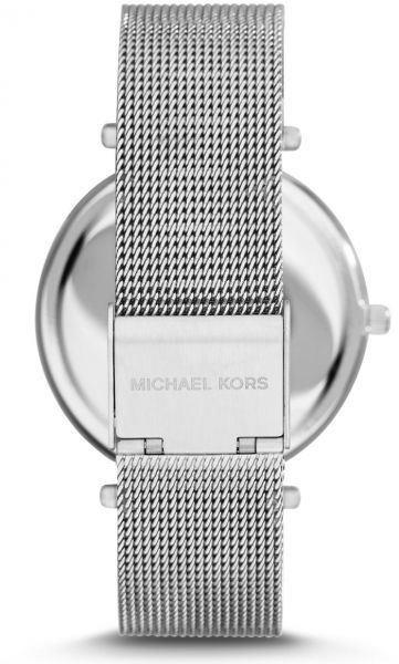 149cfd5c5bd6 Michael Kors Darci Ladies Watch Silver Mesh Bracelet Siver Dial MK3367. Zoom