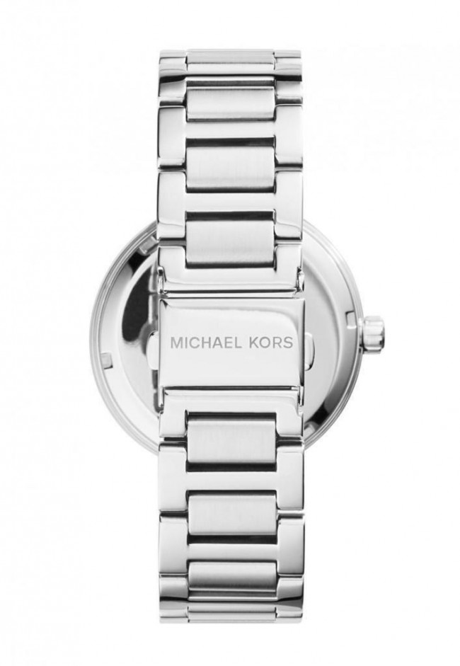 05d393cee8ec Michael Kors Ladies Womens Wrist Watch Silver Stainless Steel Skylar MK5866.  Loading... Zoom