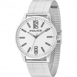 Police Mens Gents Esquire Wrist Watch Silver Strap 14765JS/04M