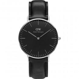 Daniel Wellington  Classic Black Sheffield Mens Gents Wrist Watch DW00100145