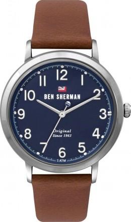 Ben Sherman Classic Quartz Leather Mens Gents Wrist Watch WBS113UT