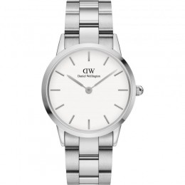 Daniel Wellington White & Silver Mens Womens Unisex Wrist Watch DW00100203